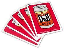Simpsons Duff Beer Spielkarten
