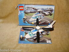 LEGO Sets: Town: City: Police: 7741-1 Police Helicopter (2008) 100% BOXED