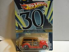Hot Wheels Cars of the Decades Red '37 Ford Truck