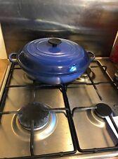 Le Creuset Classic Shallow Casserole Dish 30cm (Blue)