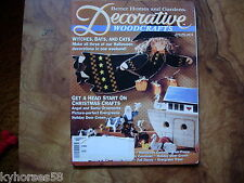 Better Homes And Gardens Decorative Woodcrafts Magazine October 1993