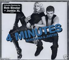 MADONNA & JUSTIN TIMBERLAKE - 4 MINUTES 2008 CD SINGLE PART 2 W803CD2 TIMBALAND