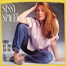 SISSI SPACEK - Lonely But Only For You -  1983 - with picture sleeve
