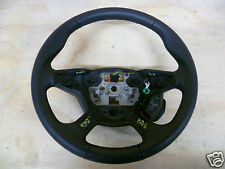 GENUINE FORD FOCUS LEATHER 4 SPOKE MULTI FUNCTION STEERING WHEEL 2011 - 2014