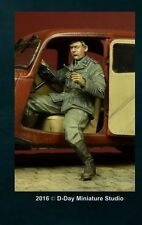 D-Day Miniature, 35053, 1:35, GERMAN SD DRIVER FOR CITROEN 11 CV