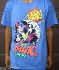 Ecko unltd Batman Penguin Punch Blue Men T-Shirt Size Large New W/ Tag