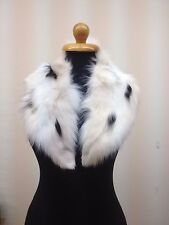 Real Fox Winter Fur Collar, Special for Leather Jacket