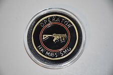 HECKLER &  KOCH HK ITD HK MP5 SMG OPERATOR CHALLENGE COIN MP5 MP5K USP P7M8 P30!