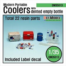 1/35 Scale Modern U.S portable Cooler set - resin model set from DEF