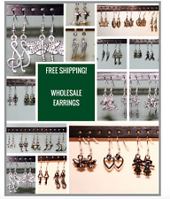 100 PAIRS!!!  High Quality Dangle Earrings /All Hypo Allergenic / WHOLESALE LOT