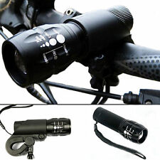 240 lumen Q5 Cycling Bike Bicycle LED Front HEAD LIGHT Torch larm DZ