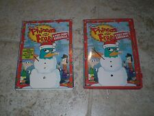 Disney's PHINEAS AND FERB - A VERY PERRY CHRISTMAS DVD with Collector's Sleeve