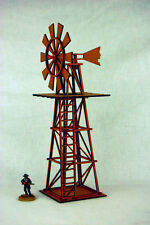 Old West Cowboy Building WINDMILL WATER PUMP  25mm, 28mm Terrain D044