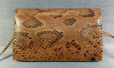 Vintage Genuine Snake Skin Shoulder Bag Made in Senegal West Africa