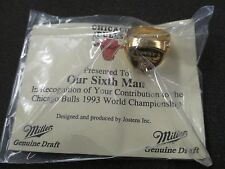 1993 CHICAGO BULLS NBA CHAMPIONS MICHAEL JORDAN JOSTENS RING SEALED ORIGINAL