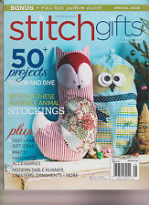 INTERWEAVE STITCH MAGAZINE GIFTS 2014, 50 PROJECTS TO SEW & GIVE.