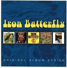 IRON BUTTERFLY - ORIGINAL ALBUM SERIES  5 CD NEU