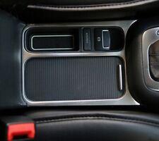 VW Tiguan Abdeckung Rahmen für Mittel Konsole Edelstahl Gebürstet  TSI TDI Rline