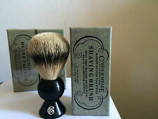 CZECH & SPEAKE N° 88 SHAVING BRUSH GREY BADGER SILVERTIP PENNELLO BARBA TASSO