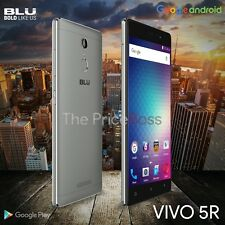 BLU VIVO 5R 4G LTE 32GB 5.5 3GB RAM Android 6.0 GSM Unlocked V0090U Gray New