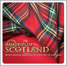 Memories Of Scotland Cd Mull of Kintyre Loch Lomond Just a Glasgow Boy and More