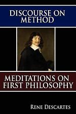 Discourse on Method and Meditations on First Philosophy Rene Descartes Paperbac