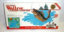 The Great Walleye Tournament Board Game 3rd Edition 100% Complete Rare Fishing