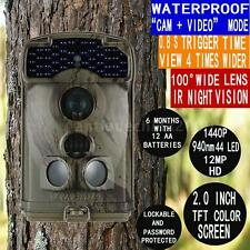12MP 720P Little Acorn Ltl-5310WMG 100º MMS SMS GPRS Game Hunting Camera S0Z3