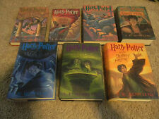HARRY POTTER 1-7 BOOKS, COMPLETE BOOK SERIES, GREAT SHAPE