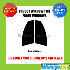 CHEVROLET AVEO 5-DOOR 2012+ FRONT PRE CUT WINDOW TINT