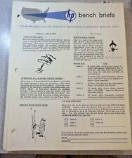 HP Bench Briefs Vol 4 No 6 February-March 1963