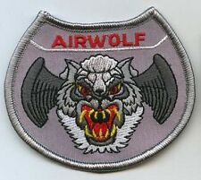"JAN-MICHAEL VINCENT AIRWOLF TV SERIES AIRWOLF 3"" PATCH"
