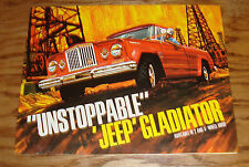 Original 1965 Jeep Gladiator Pickup Sales Brochure 65