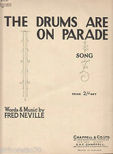 The Drums Are On Parade SHEET MUSIC Australia