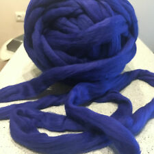 merino wool tops roving yarn super big bulky chunky arm knitting felting 1 lbs