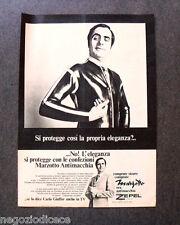 [GCG]  O066 - Advertising Pubblicità - 1970 - MARZOTTO ANTIMACCHIA,CARLO GIUFFRE
