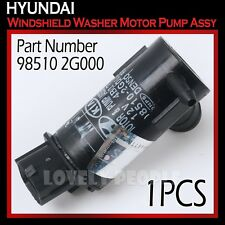 New OEM Windshield Washer Motor Pump Assy 985102G000 for Hyundai 2000 - 2012