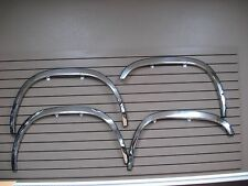 "1997-2004 Dodge Dakota  2"" wide Chrome Wheel well opening Moldings Fender Trim"