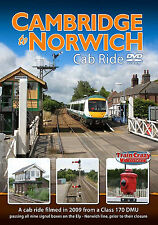 Cambridge to Norwich Cab Ride. *DVD only (Class 170 DMU)