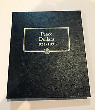 Peace Silver Dollar Complete Set 1921-1935 Collection 1928 P 1921 Whitman Album