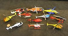 11 Diecast Special Duty Helicopters, RESCUE Services: Medic, Police, Coast Guard