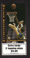 1996-97 Towson State Tigers Basketball Schedule--Papa John's Pizza