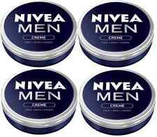 NIVEA MEN CREME CREAM FOR FACE BODY HANDS PREVENTING DRYING OUT  4 x 75ml