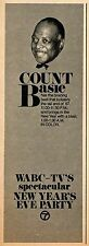 1963 WABC TV AD~COUNT BASIE NEW YEAR'S EVE PARTY in NEW YORK CITY~Bracing Beat