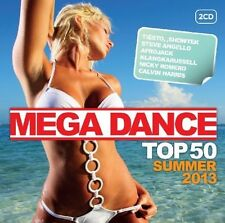 MEGA DANCE TOP 50 SUMMER 2013 - MARTIN SOLVEIG, RICKY ROMERO - 2 CD NEU