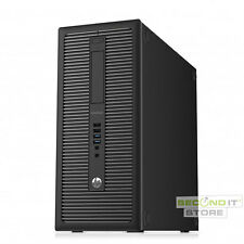 HP EliteDesk 800 G1 TWR PC Quad Core i7 4x 3,4 GHz 16 GB RAM 256 GB HDD Win10