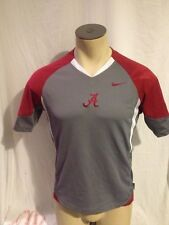 Alabama Crimson Tide Nike Fit Dry  Shirt Small Excellent Preowned Condition!