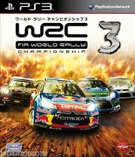 Used PS3 WRC 3: FIA World Rally SONY PLAYSTATION 3 JAPAN JAPANESE IMPORT