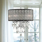 Modern 4 Light Crystal Chandelier Pendant Lamp Ceiling Fixture Home Lighting