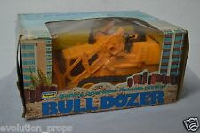 VINTAGE PLAYWELL - BATTERY OPERATED REMOTE CONTROL SOUND BULLDOZER